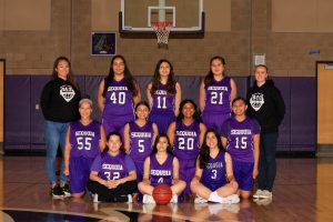 Girls JV Basketball 2018-19