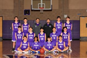 Boys Frosh Basketball 2018-19