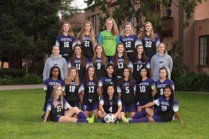 Varsity Girls Soccer 2018-19