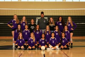 Girls Varsity Volleyball 2018