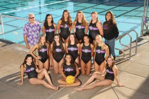 Girls JV Water Polo 2018