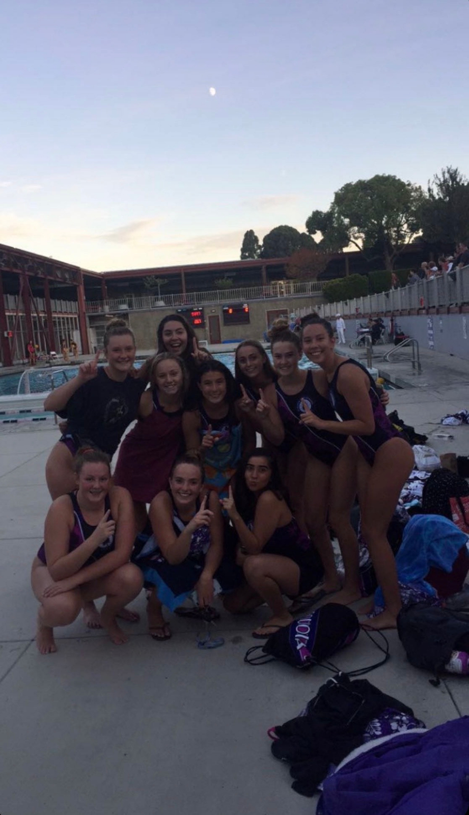 Girls Varsity Wopo team beats Burlingame for the #1 Slot in the League!