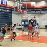Lady T-Bird Basketball prepare for upcoming 2019-2020 season.