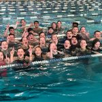 Timpview Swim Teams take Region 7 Title.