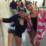 Girls Varsity Swimming fights to the end, falls to Wasatch 71-99