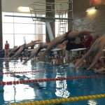 Swimming Regional meet at JL Sorenson 3:30