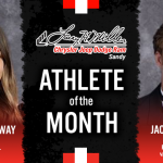 The Larry H. Miller in Sandy January Athlete of the month is…