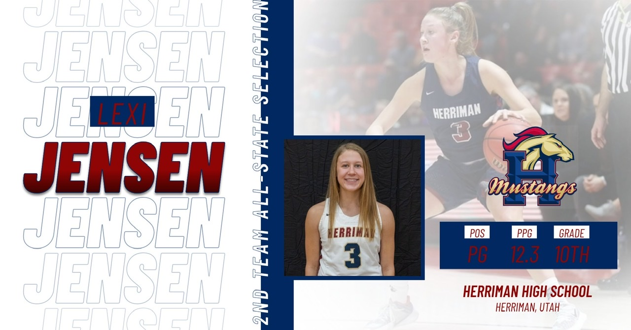 Lexi Jensen 2nd Team All-State Selection
