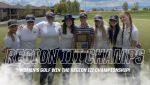 Women's Golf Region Champions
