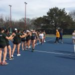 Girls Varsity Tennis falls to Grosse Pointe South 6 – 2