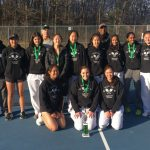 Girls Varsity Tennis finishes 2nd place at Ann Arbor Invite (6 Participants)