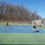 Girls Varsity Tennis beats Pinckney 8 – 0