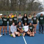 Girls Varsity Tennis finishes 1st place at Clarkston High School and 2 others