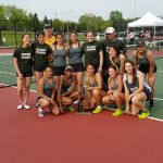 Girls Varsity Tennis finishes 1st place at MHSAA Region 3 Tournament