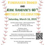 Capuchino Baseball Fundraiser & Kirk Sandvik's Birthday