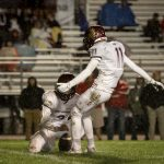 Maple Mountain High School Varsity Football beat Spanish Fork High School 24-9