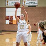 Maple Mountain High School Girls Varsity Basketball beat Spanish Fork High School 47-46