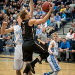 Maple Mountain High School Boys Varsity Basketball beat Salem Hills High School 99-66