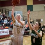 Maple Mountain High School Girls Varsity Basketball beat Payson High School 59-30