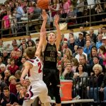 Maple Mountain High School Boys Varsity Basketball falls to Springville High School 46-44
