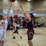 Maple Mountain High School Girls Varsity Basketball beat Spanish Fork High School 64-60