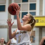 Maple Mountain High School Girls Varsity Basketball beat Hillcrest High School 46-36