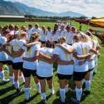 Maple Mountain High School Girls Varsity Soccer ties Timpanogos High School 2-2