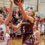 Girls Varsity Basketball beats Springville 53 – 50