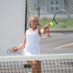 Girls Varsity Tennis beats Brighton 3 – 2