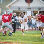 Boys Varsity Football falls to Spanish Fork 27 – 14