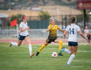Varsity Girls Soccer Timpanogos 2018