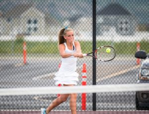 Photos: Tennis Girls v Springville 2018