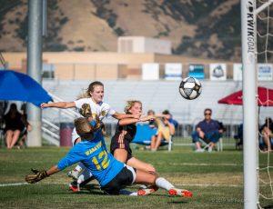 Varsity Girls Soccer v Wasatch 2019