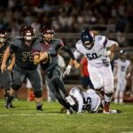 Boys Varsity Football falls to Springville 35 – 22