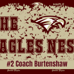 The Eagles Nest #2 – Football Head Coach Brad Burtenshaw