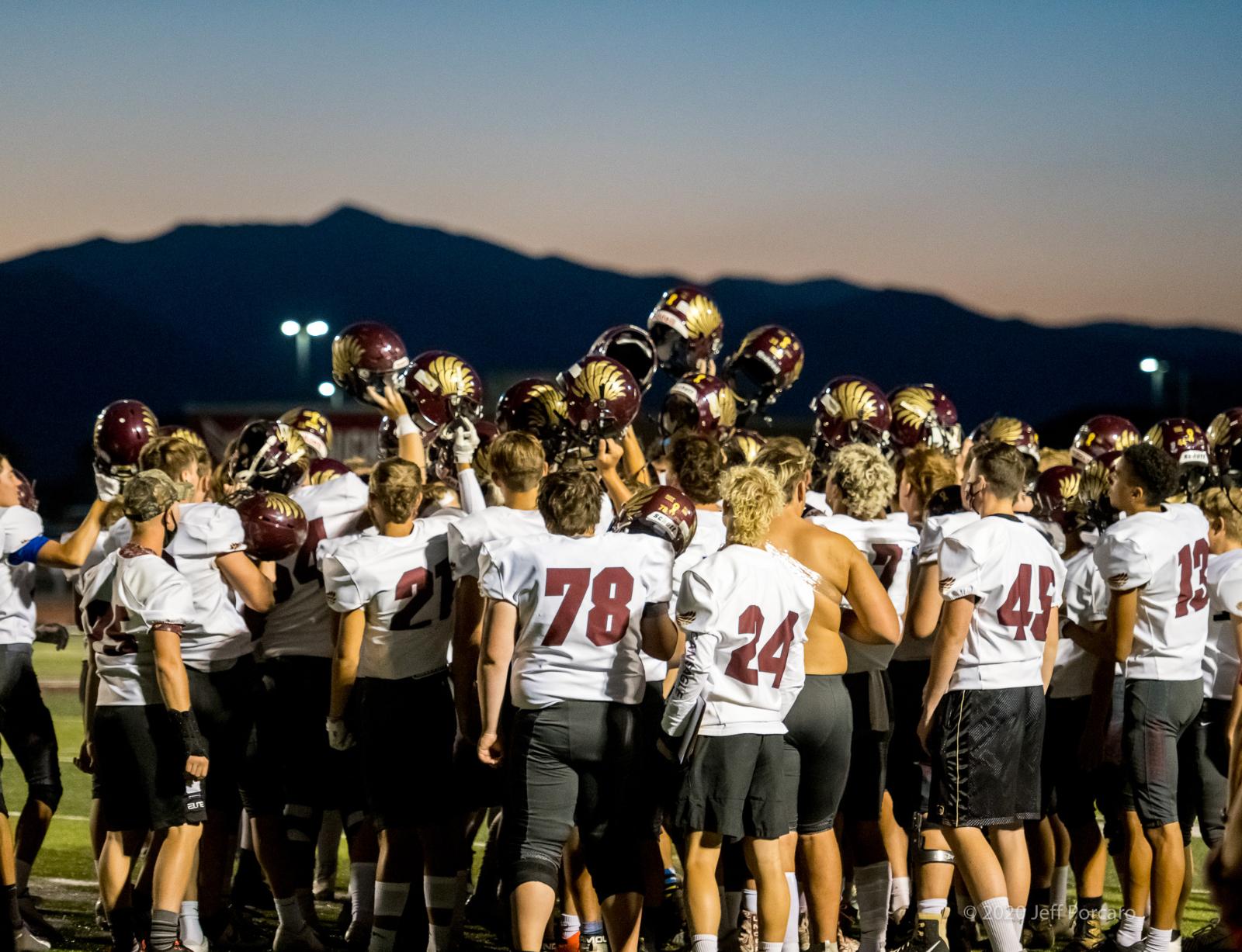 Varsity Football @ Cedar Valley 2020