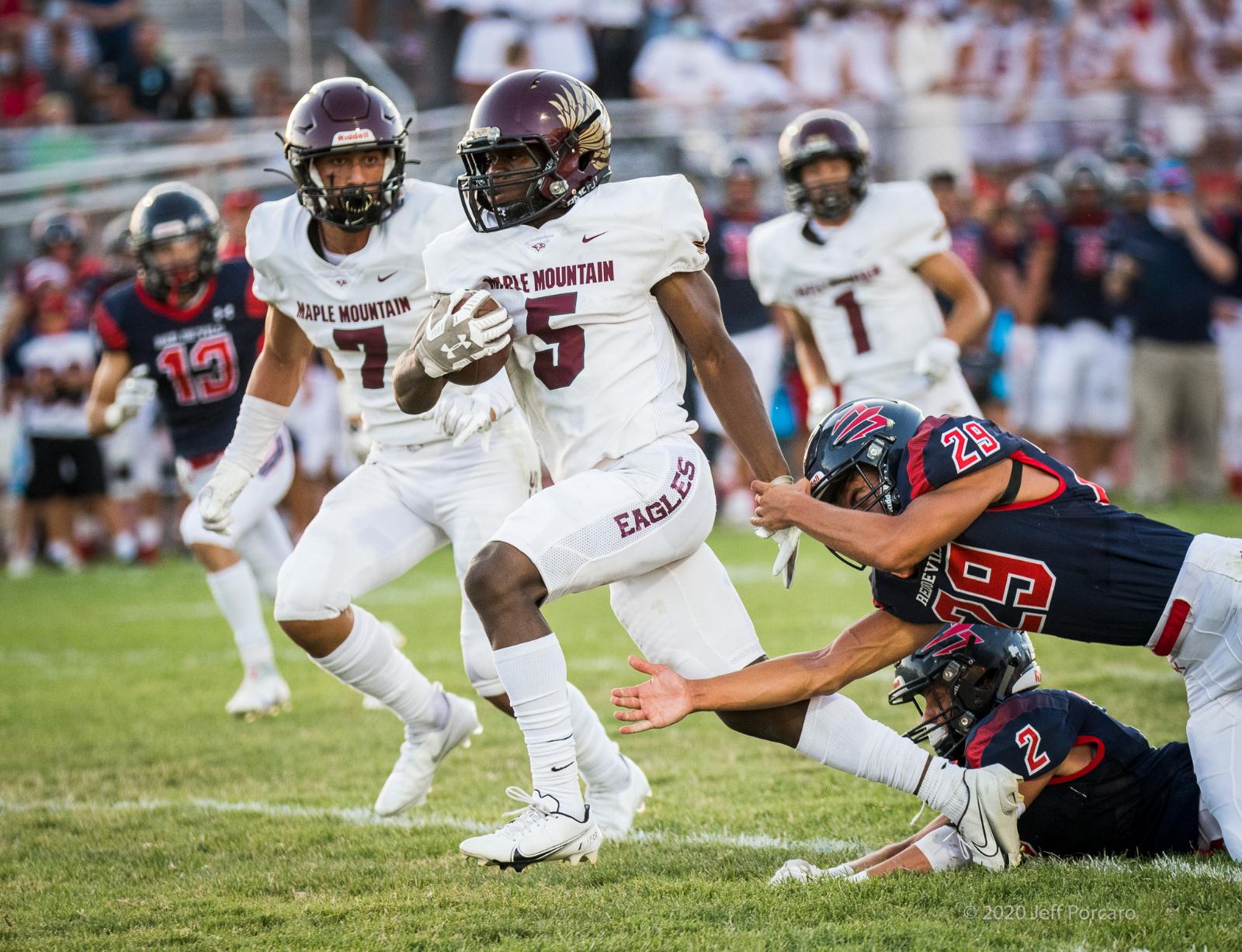 Football Varsity v Springville 2020