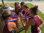 Girls Tennis advances to State