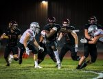 Boys Varsity Football beats Spanish Fork 44 – 37