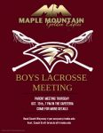 Boys Lacrosse Information