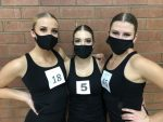 Three MMHS Ellevés Named to the 5A All-State Drill Team