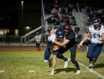 Varsity Football holds off Springville 27 – 21 in playoff 2nd round win.