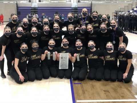 MMHS Ellevés Place at First Competition