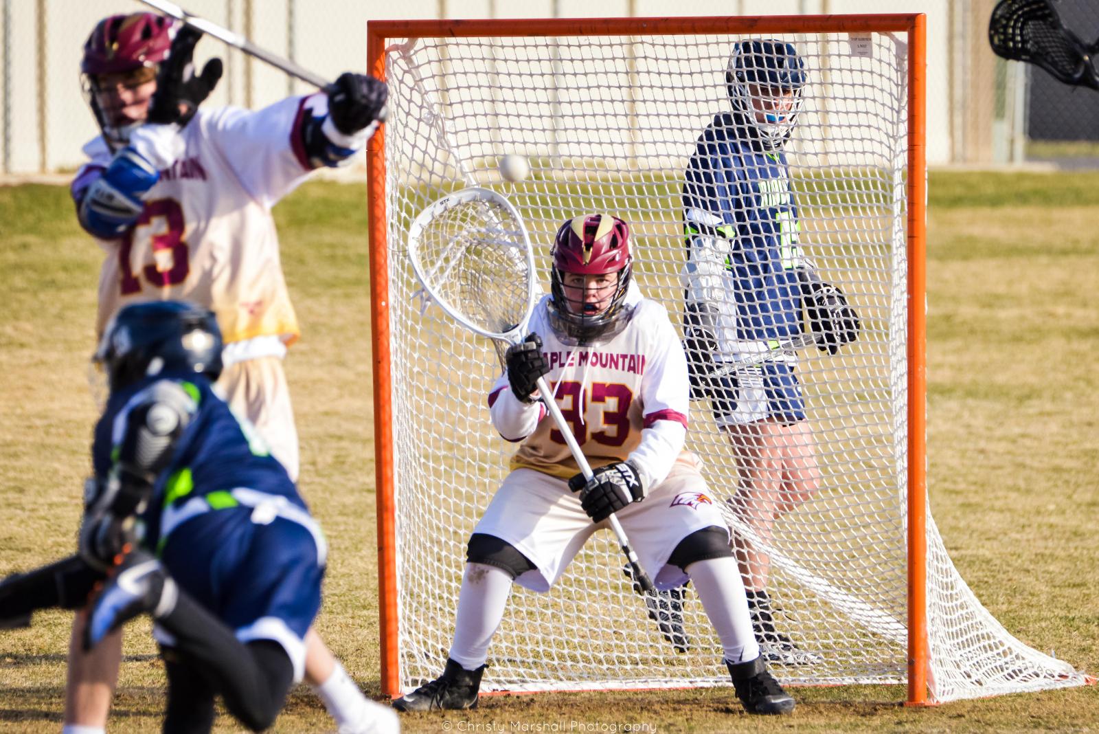 Boy Lacrosse JV vs Ridgeline March 26 2021