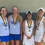 Girls Tennis Doubles State Champs