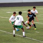 Walt Whitman High School Boys Junior Varsity Soccer beat Montgomery Blair High School 3-1