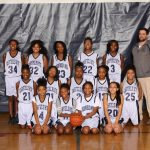 2016-2017 Middle School Girls Basketball Team
