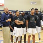 Boys Basketball Parents Night Pictures