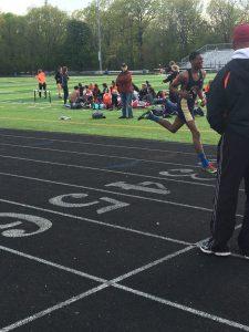 Varsity Track vs Padua