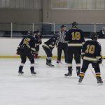 Garfield Hts. Ice Hockey — Senior Parents Night Pics